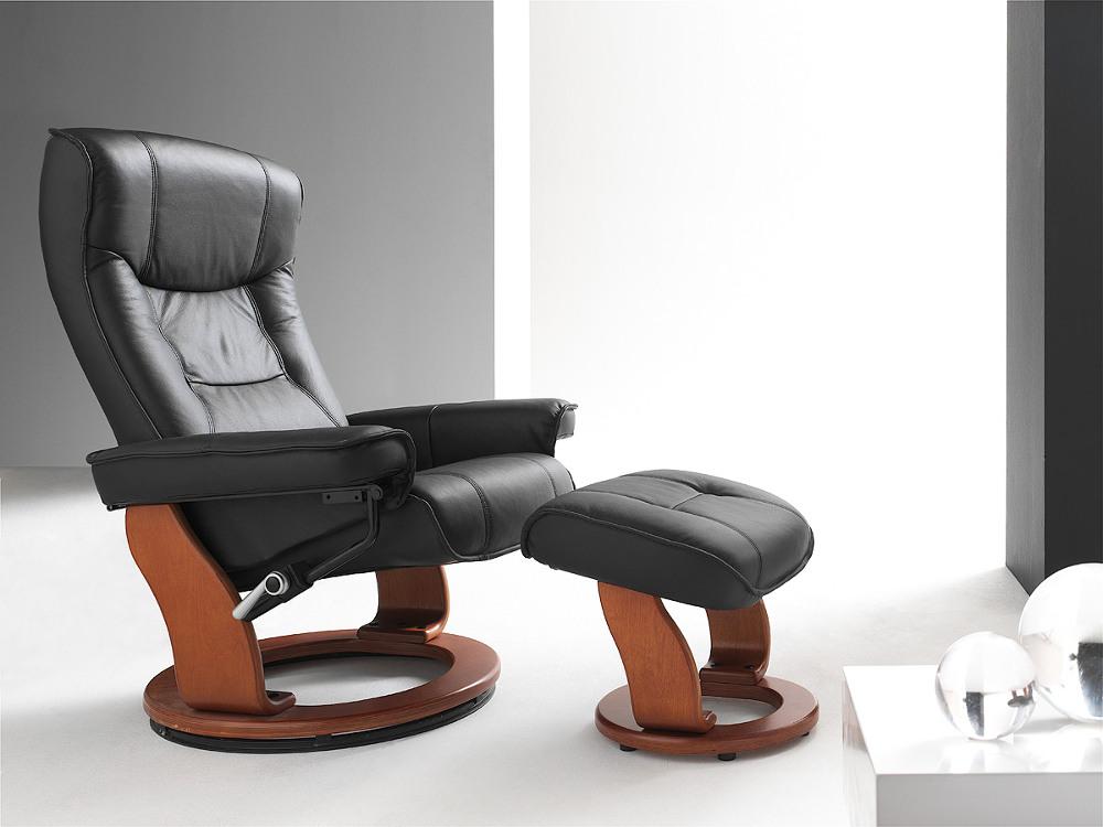 skórzany fotel telewizyjny